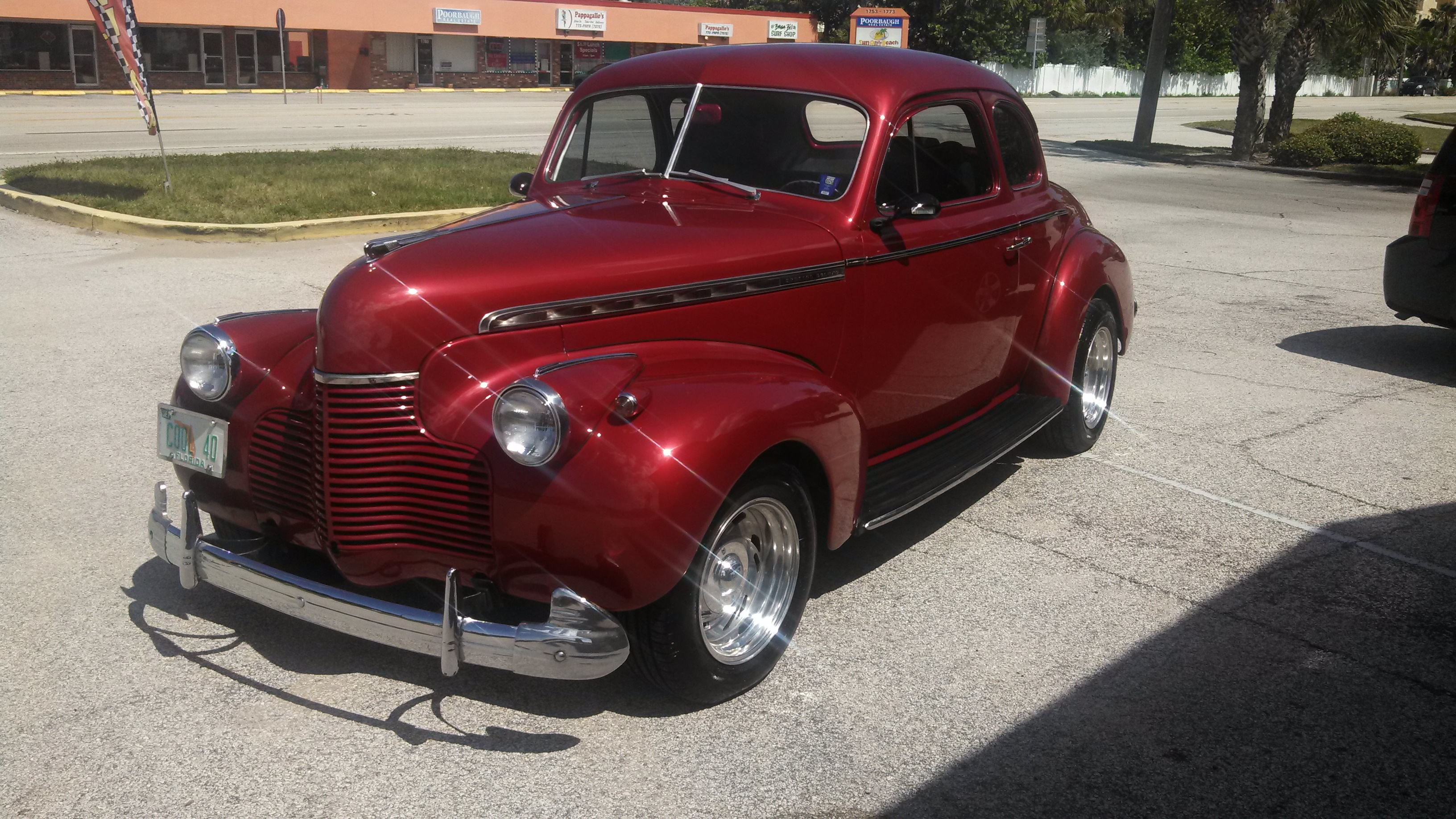 1940 Chevy Special Deluxe Coupe